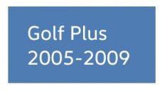 Golf Plus 2005-2009