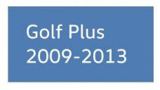 Golf Plus 2009-2013