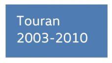 Touran 2003-2010